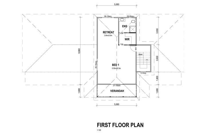 Kit Home Gold Coast First Floor Plan