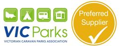 Victorian Caravan Parks Association preferred supplier