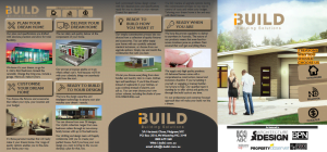 iBuild Kit Homes & Granny Flats Pamphlet