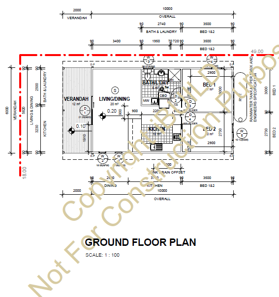 Kit Homes Griffith Floor Plan