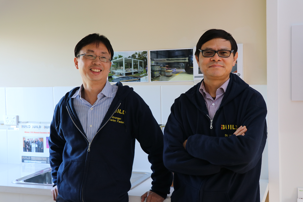 iBuild Building Solutions photo 5 - Jackson Yin Managing Director and Michael Zeng Director