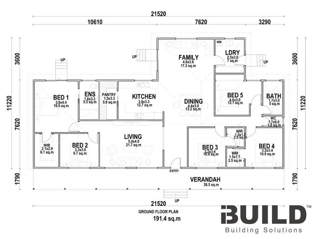 Albury Floor Plan