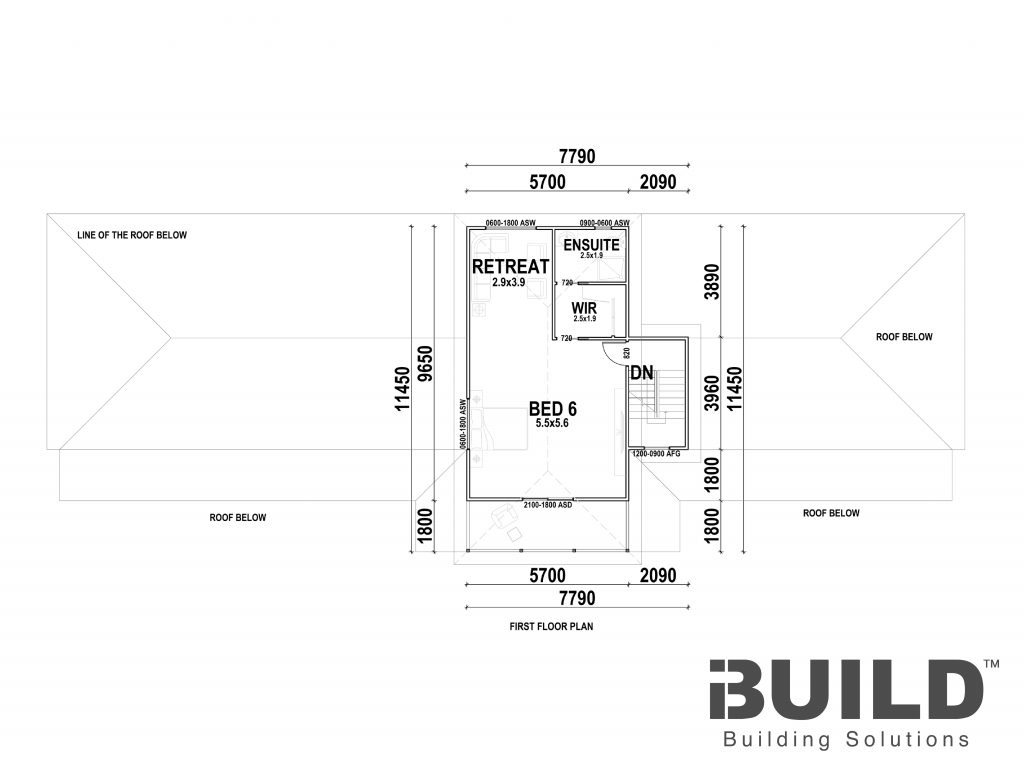 Gold Coast First Floor Plan